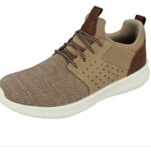 Skechers tan classic Delson Camben sneakers